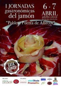 """Concurso de Cortadores de Jamón en """"Poblete Puerta de Alarcos"""" (Ciudad Real)"""