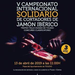 V Campeonato de Cortadores de Jamón Ibérico Toledo