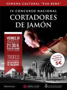 IV Concurso de Cortadores de Jamón Los Santos de Maimona