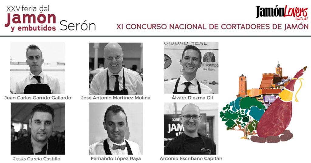 Participantes XI Concurso Cortadores de Jamón Serón