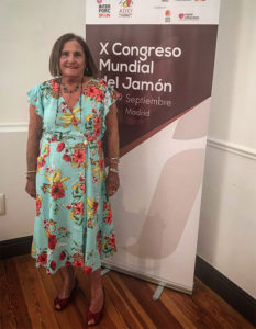 Chelo Gámez, El lado femenino del jamón