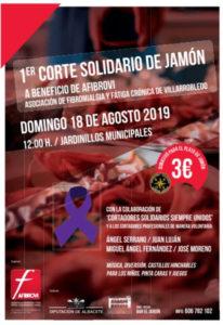I Corte Solidario de Jamón Villarobledo
