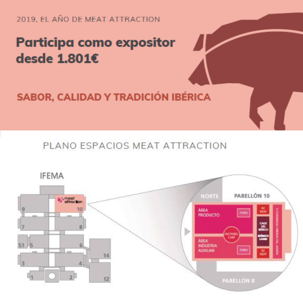 Ibérico Land, el espacio del Ibérico en Meat Attraction