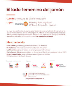 Las mujeres del Jamón