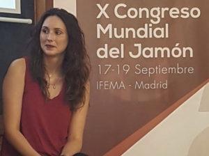 María Asensio Calvarro, El lado femenino del jamón