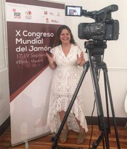 Miriam López Ortega, El lado femenino del jamón