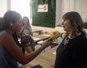 Noelia Gómez El lado femenino del jamón