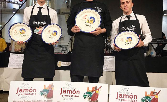 podium-XI-concurso-nacional-cortadores-jamon-de-seron