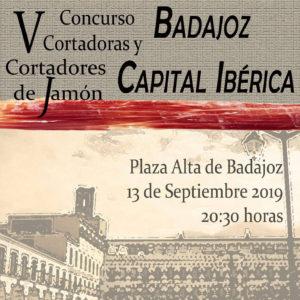 v concurso de cortadores de jamón Badajoz