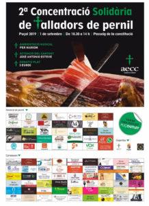 2º Concentracio solidaria de talladors de pernil Puçol (Valencia)