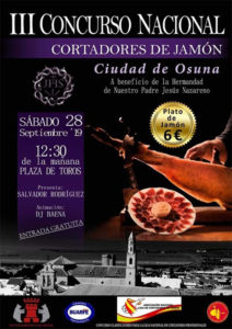 III Concurso de Cortadores de Jamón Ciudad de Osuna