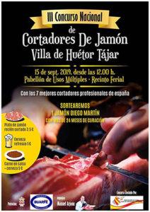 III Concurso de Cortadores de Jamón Villa de Huétor Tájar