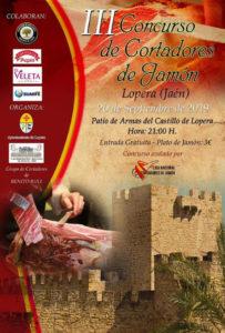 III Concurso de Cortadores de Jamón Lopera, Jaén