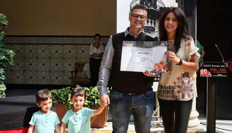 elaborados-las-torres-medalla-plata-concurso-calidad-mejor-jamon-teruel-2019
