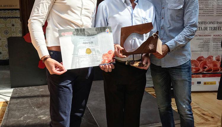 sierra-de-mora-medalla-oro-concurso-calidad-mejor-jamon-teruel-2019