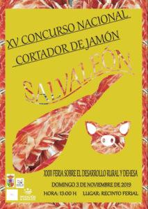 XV Concurso cortadores de jamón Salvaleón