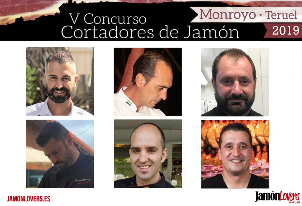 Participantes V Concurso Cortadores de Jamón Monroyo 2019