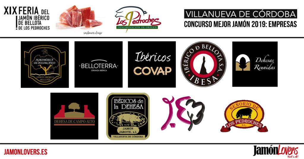 Concurso al mejor Jamón de Bellota 100% Ibérico DOP Los Pedroches 2019