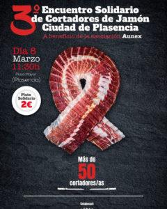 3º Encuentro Solidario de Cortadores de Jamón Plasencia