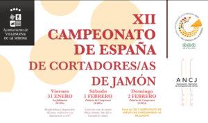 XII Campeonato de España de Cortadores y Cortadores de Jamón