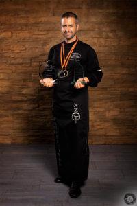 Abraham Cambres Salinas, Finalista XII Campeonato de España de Cortadores de Jamón ANCJ