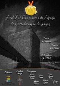 Final XII Campeonato de España de Cortadores y Cortadores de Jamón
