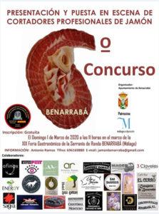 VI Concurso de Cortadores de Jamón Benarrabá