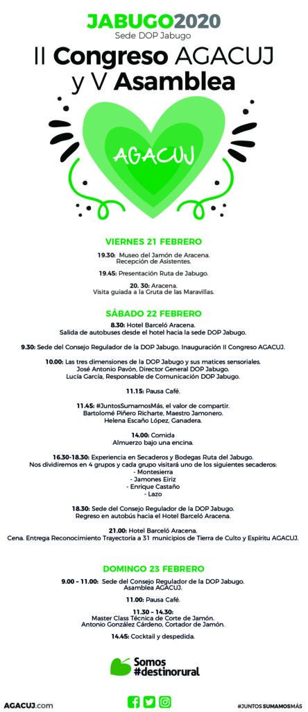 II Congreso AGACUJ del Jamón, Jabugo 2020
