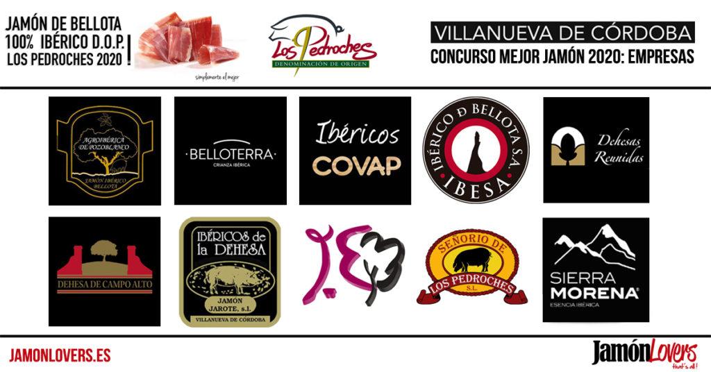 Concurso al mejor Jamón de Bellota 100% Ibérico DOP Los Pedroches 2020