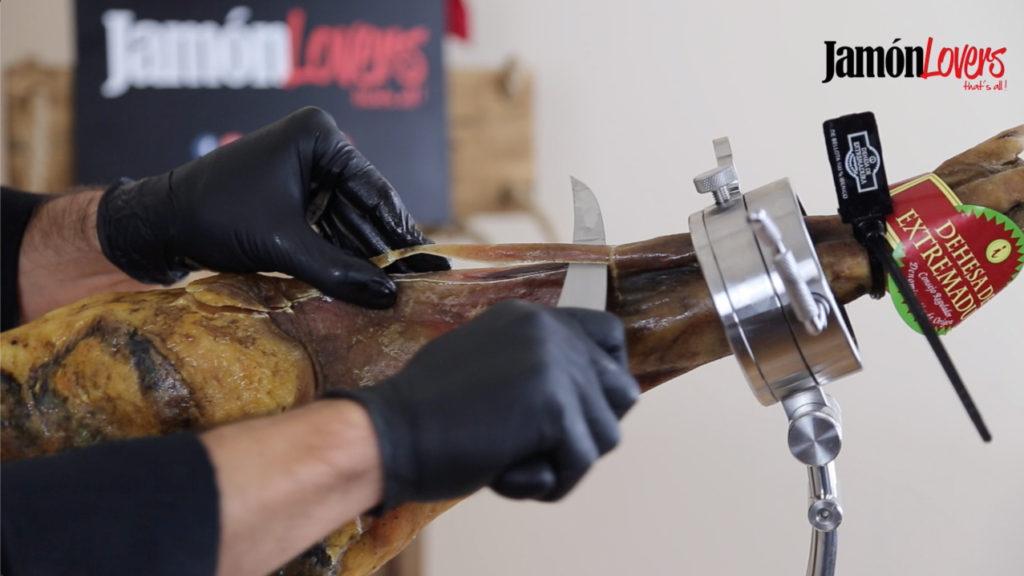 Cómo cortar paleta para casa: Apertura de la paleta, limpieza jarrete
