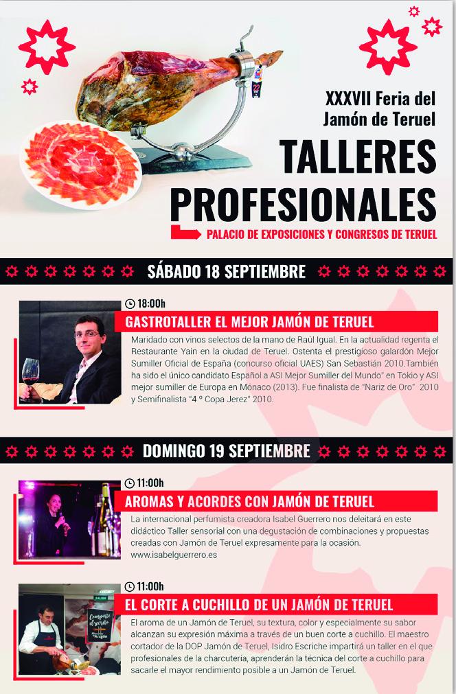 Talleres Profesionales XXXVII Feria del Jamón de Teruel